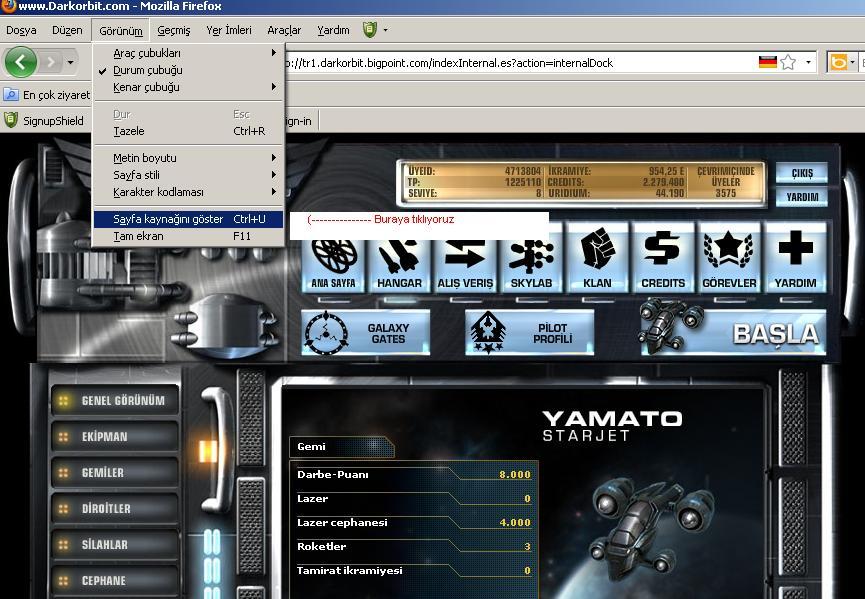 Darkorbit Profibot 4.45 / Darkorbit IBot 4.45. . Merhaba arkadaşlar. . Si