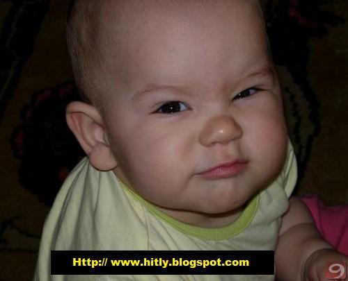 Sinirli kızgın bebek kızgın çirkin bebekler resim