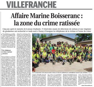 Aide Gendarmerie villefranche