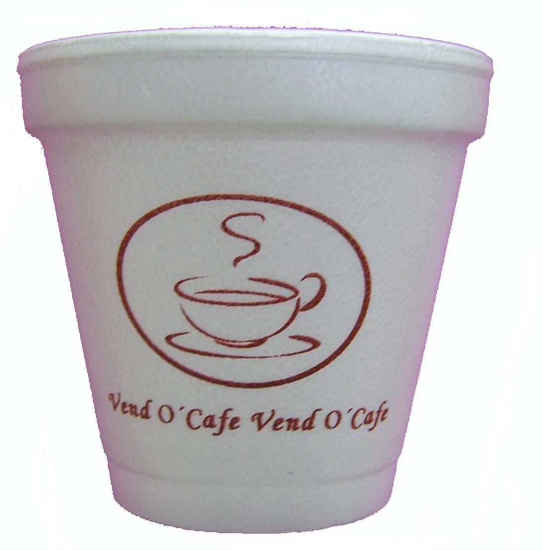 Vasos de unicel para cafe