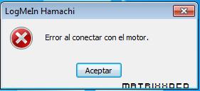 Arreglar error de Hamachi