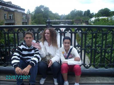Mary, Diego y Sandra (churrusquita)