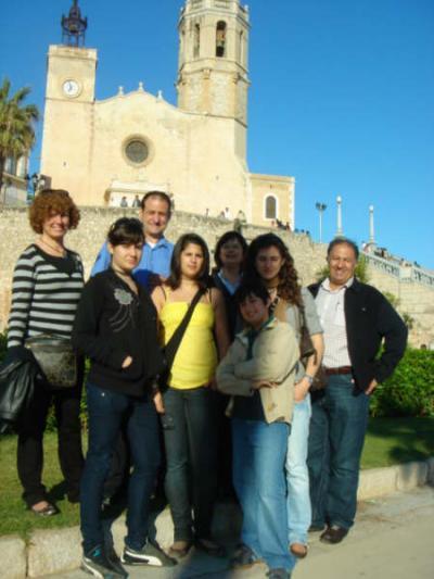 Rosa, Angel, Yolanda y Ali. L@s Chic@s son: Carla, Yasmin, Raquel y Adrian.(yocaro)