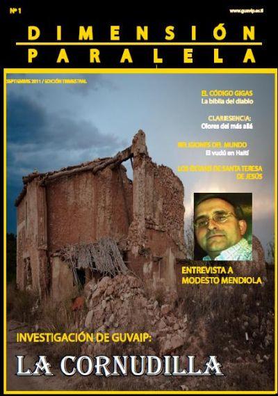 Revista Dimensión Paralela Número 1 Septiembre de 2011 Portada1
