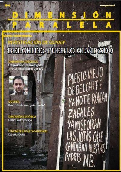 Revista Dimensión Paralela Número 4 Junio 2012 Portada4