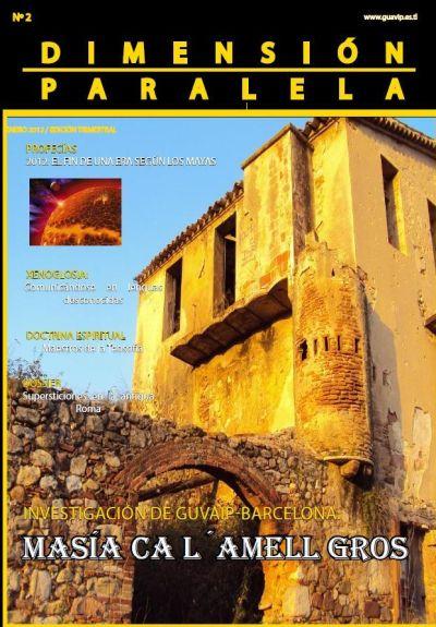 Revista Dimensión Paralela Número 2 Enero de 2012 Portadaenero2012