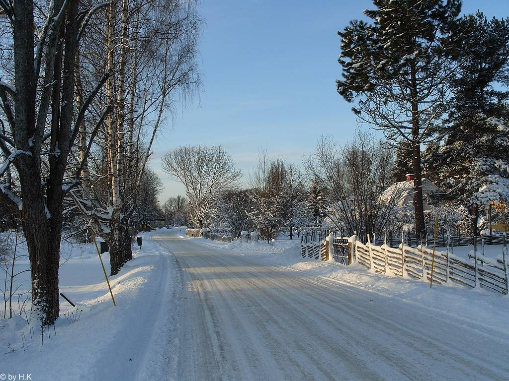 Winter 2009 - 2010 in Småland