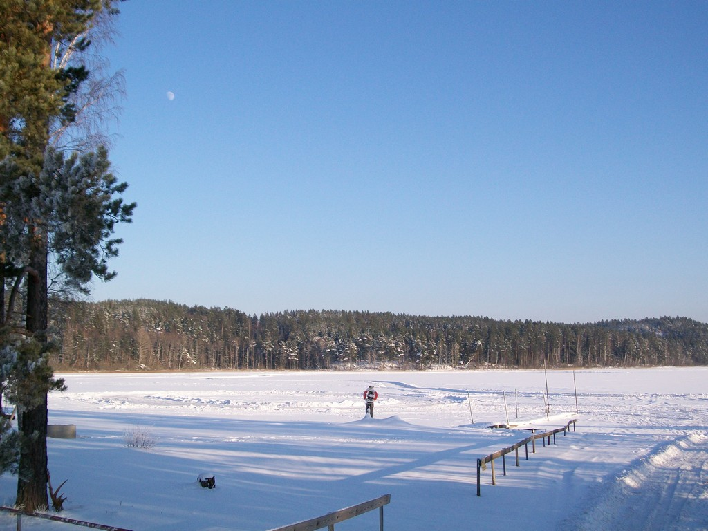 Winter 2009 - 2010 in Småland am See Lillesjö