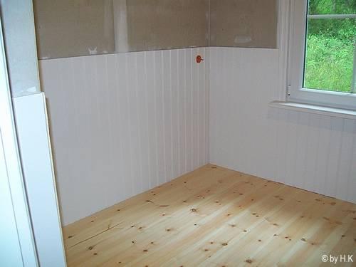 die holzvert felung in der k che. Black Bedroom Furniture Sets. Home Design Ideas