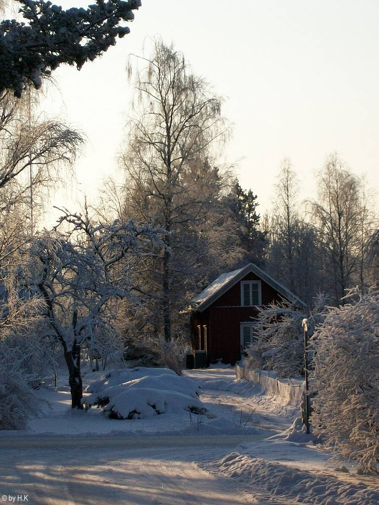 Winteridylle in Rosenfors