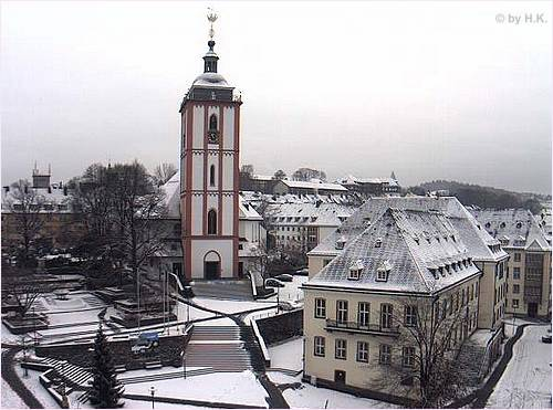 Siegen im Winter