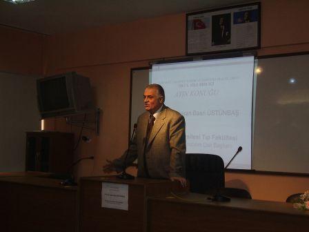 ayın konuğu, Prof. Dr. Hasan Basri ÜSTÜNBAŞ - Erciyes Üniversitesi Öğretim Üyesi