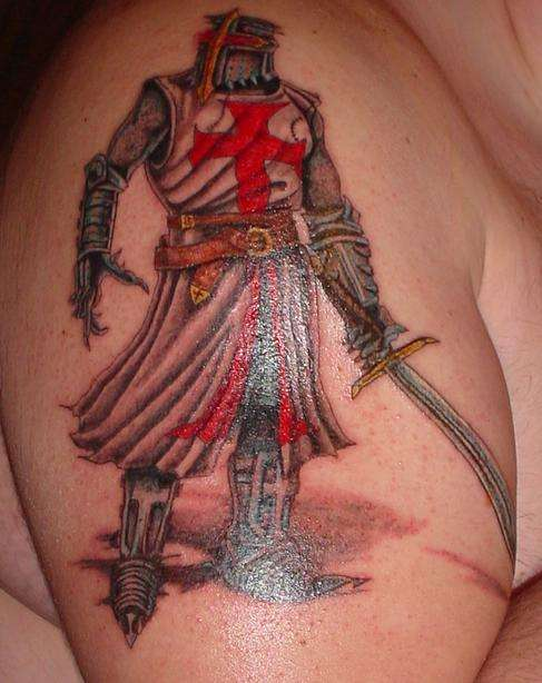 heaven-light - Templar knights Tattoos