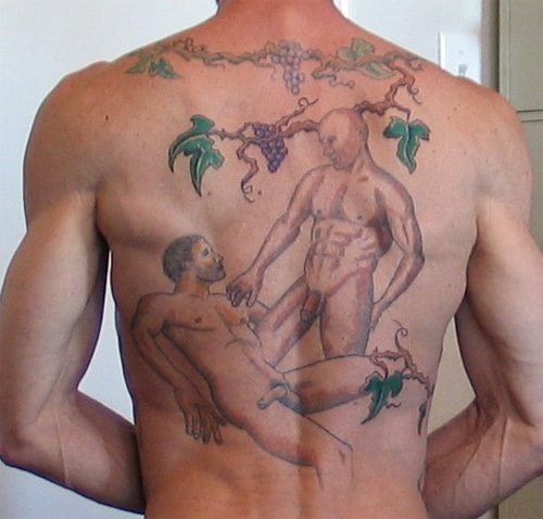 gay tattoo. PHOTO GALLERIE - TATTOOED