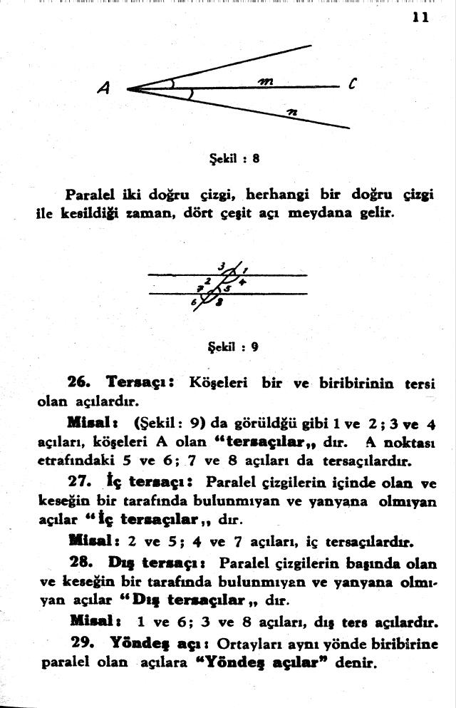 sayfa 11 Atatürkün Geometri Kitabı