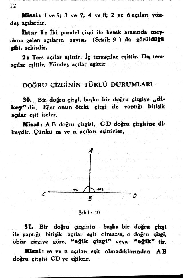 sayfa 12 Atatürkün Geometri Kitabı