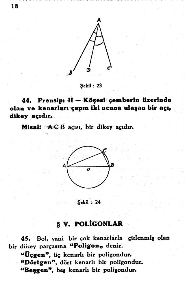 sayfa 18 Atatürkün Geometri Kitabı