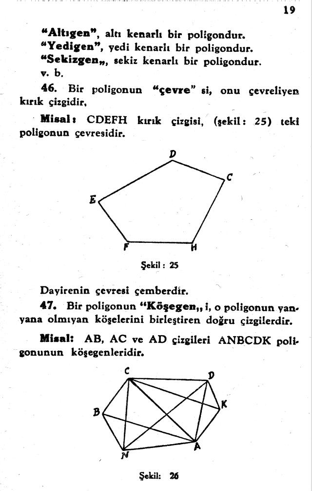 sayfa 19 Atatürkün Geometri Kitabı