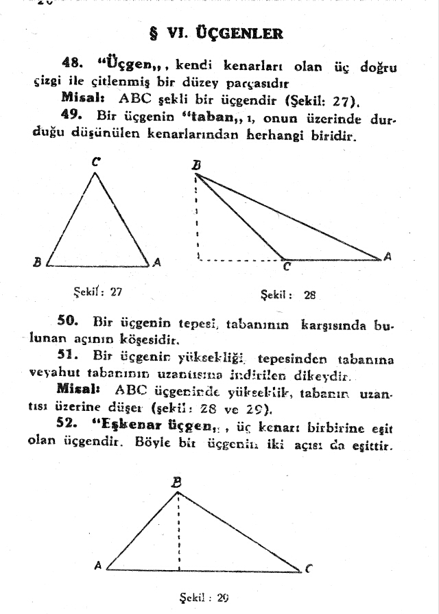 sayfa 20 Atatürkün Geometri Kitabı