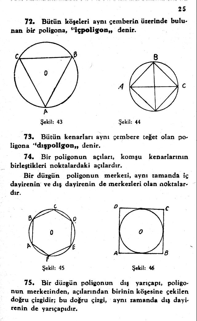 sayfa 25 Atatürkün Geometri Kitabı