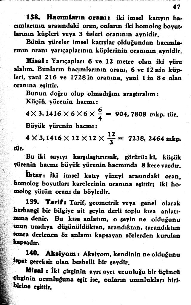 sayfa 47 Atatürkün Geometri Kitabı