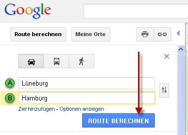rote berechnen route berechnen karte google maps routen. Black Bedroom Furniture Sets. Home Design Ideas