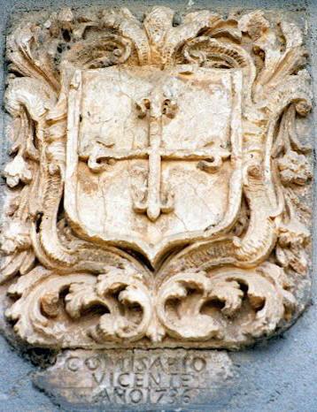Comisario Vicente del Tribunal del Santo Oficio de la Inquisición