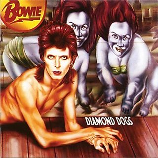 David Bowie - Diamond Dogs 1974