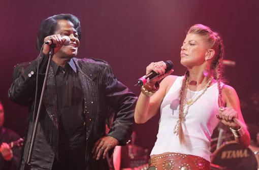 James Brown & Fergie des Black Eyed Peas