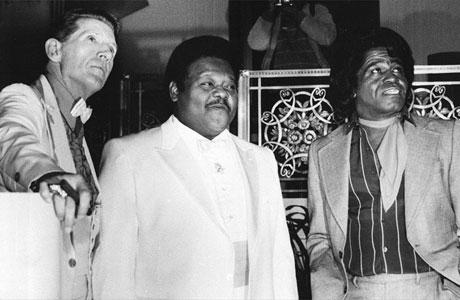 Jerry Lee Lewis, Fats Domino et James Brown
