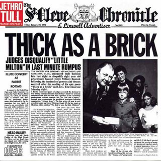 Jethro Tull - Thick As A Brick 1972