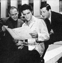 Mike Stoller, Elvis Presley & Jerry Leiber
