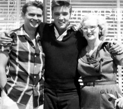 Sam, Elvis et Marion Keisker