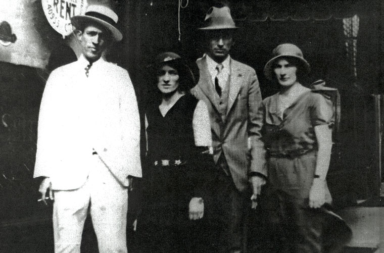 Jimmie avec The Carter Family en 1931