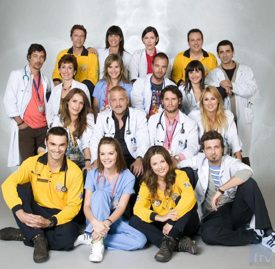 Hoy día 5 se incorporan al rodaje el equipo de Hospital Central.