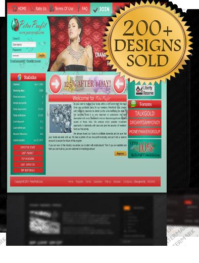 Hyip Template Designers