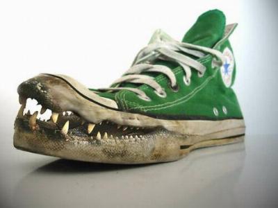 Krokodil-Chucks