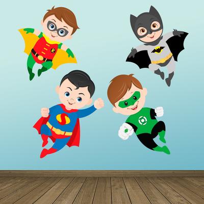 Fantasy Deco Vinilos Decorativos Superheroes