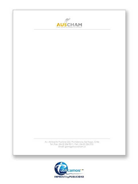 DISEÑO E IMPRESION DE HOJAS CARTAS CORPORATIVAS - Publicamos: Arte ...