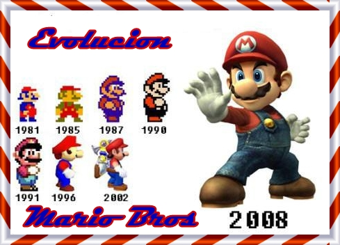 Evolucion De Mario Bros