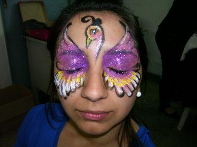 Rapido, sencillo, divertido!!!! Diferentes motivos Mariposas, Vaquitas de San Antonio, Hadas, Flores, Antifaces, Hombre Araña, Power Ranger, Etc.