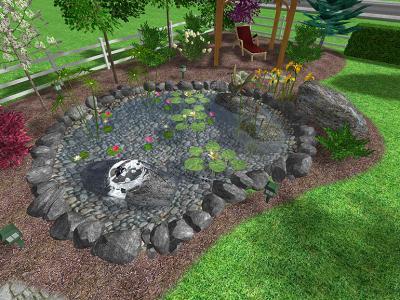 Jardines d 39 marco dise o 3d - Diseno jardines 3d ...