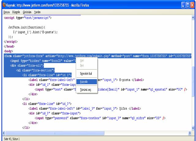 facebook sayfa hackleme kodu