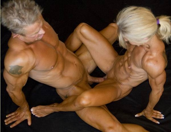 Фото бодибилдинг женщины голые