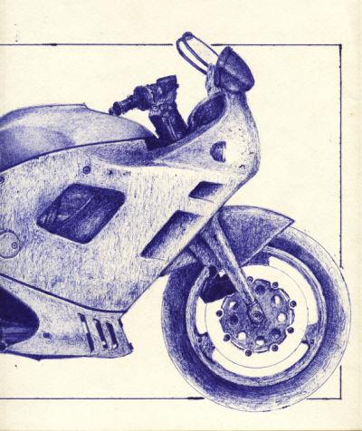 Moto grande a birome