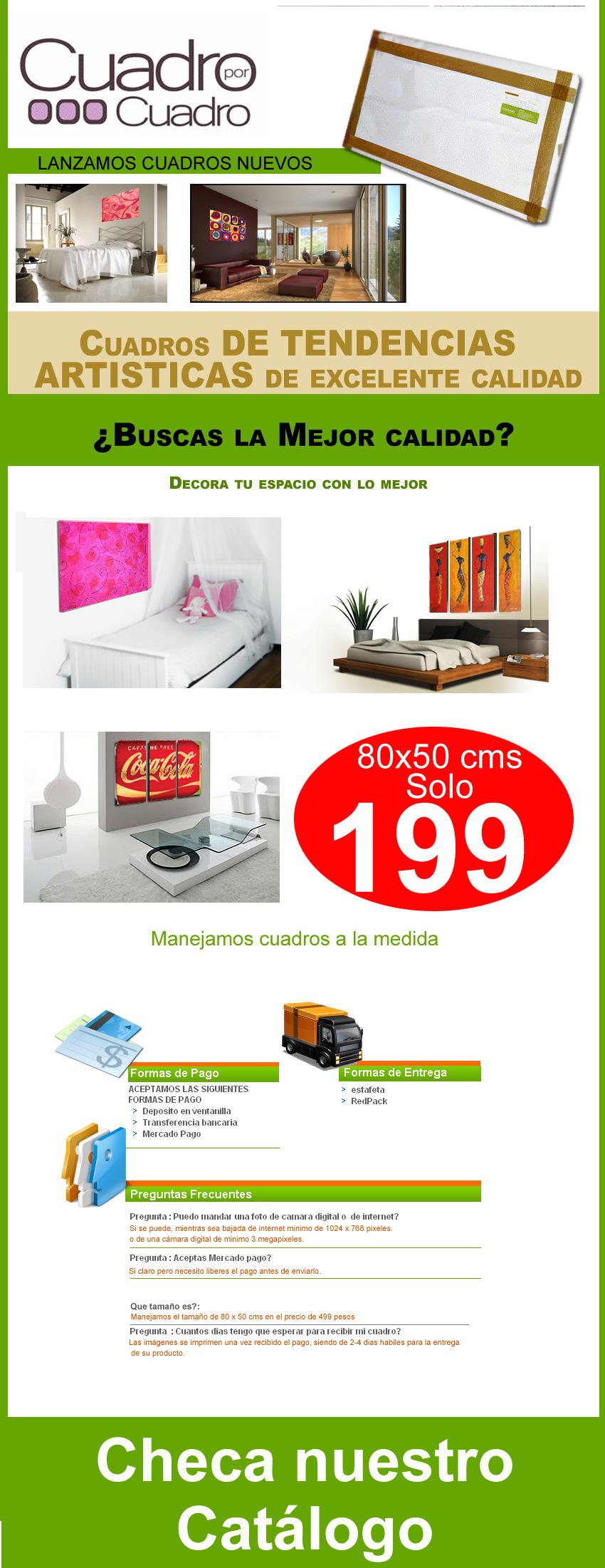 Cuadros decorativos clasicos vinil lona 199 pesos for Cuadros decorativos clasicos