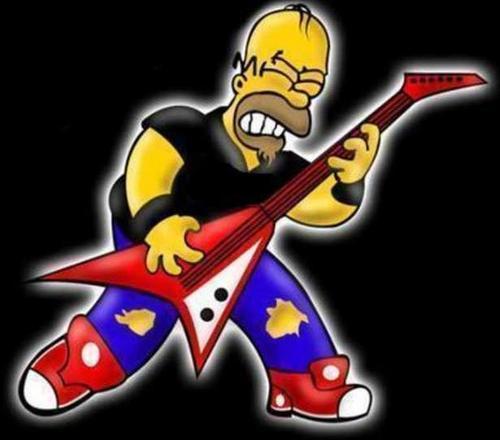 Imagenes animadas de rockeros - Imagui