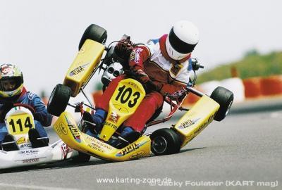 Schöner kart racing lustig
