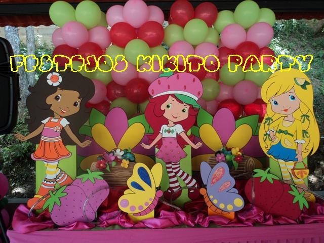 Centro de mesas de frutillita bebé - Imagui