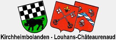 Wappen Kirchheimbolanden - Louhans-Châteaurenaud